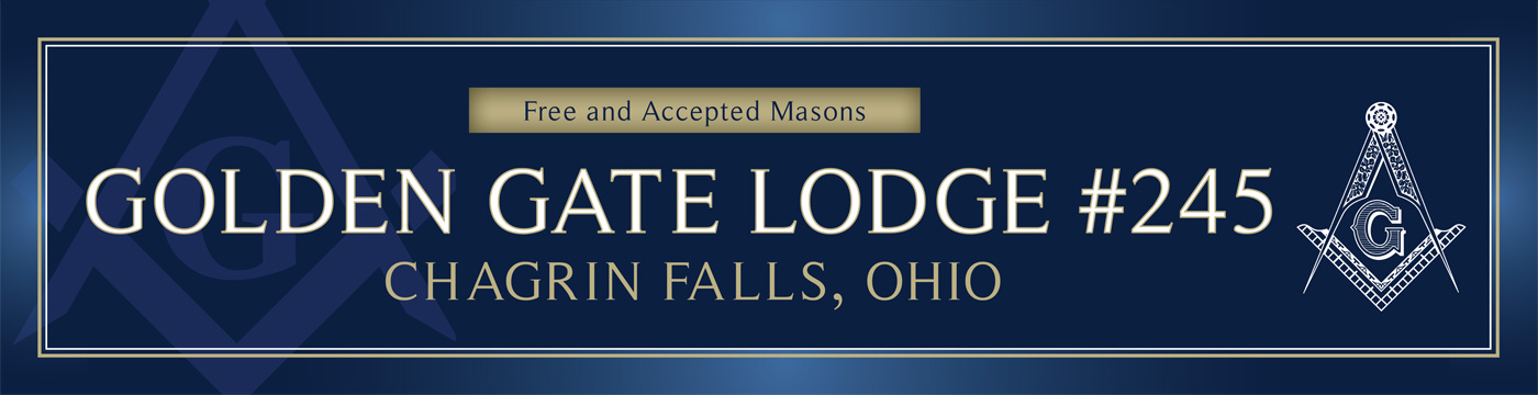 Freemasonry in Chagrin Falls, Ohio - Golden Gate Lodge #245
